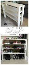 how to make a shoe cabinet simple closet shoe rack plans