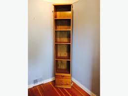 Tall Bookshelves Ikea by Tall Narrow Ikea Bookshelf With Antique Stain Finish Victoria City