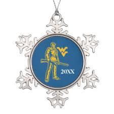 wvu ornaments keepsake ornaments zazzle