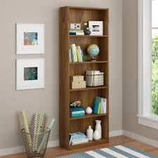 ameriwood furniture core 5 shelf bookcase brown oak