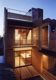 house designs images japanese wooden houses courtyard multi level decks and a loft