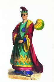 noble burmese male costume noble birmane 1843 costume history