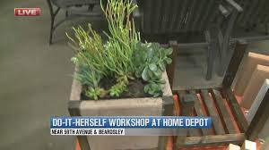 Concrete Planters Home Depot by Diy Projects For Do It Herself Divas 3tv Cbs 5