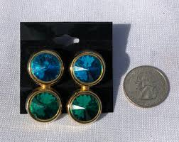 eighties earrings costume earrings etsy