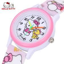 aliexpress buy kitty kids watches girls children pink