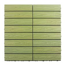 floor natural green wooden interlocking deck tiles design ideas