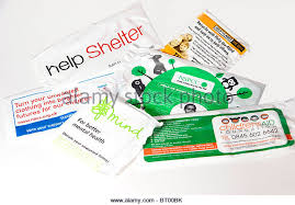 Blind Charity Charity Collection Bags Stock Photos U0026 Charity Collection Bags
