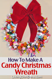 christmas reefs free how to make a candy christmas wreath e book and