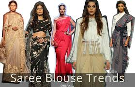 saree blouse styles 11 saree blouse trends blouse styles for 2017