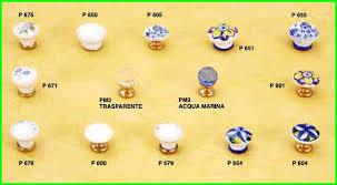 pomelli per cucina pomelli in porcellana prodotti m z