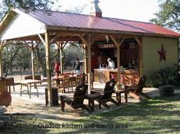 Outdoor Kitchen Pavilion Designs by Hill Country Outdoor Kitchen Design Inspiration From Texas An