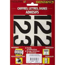 bande plastique pour porte signalétique extérieure numéro de porte lettre panneau