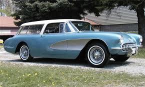 chevy corvette wagon 1956 chevrolet custom corvette nomad wagon 15795
