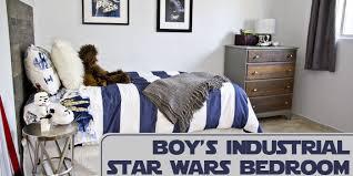 Star Wars Bedroom Paint Ideas Industrial Star Wars Room Design Dazzle