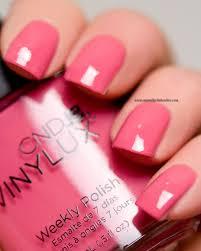 cnd vinylux irreverent rose vintage pink one coat smooth