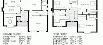 Typical House Floor Plan Dimensions Plain Floor Plan Of A House With Dimensions Stunning Typical Ideas