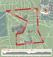 Toledo Map Miracle On Main Street 5k U2014 Sylvania Ohio Run Toledo Du