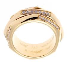 piaget diamond gold ring at 1stdibs