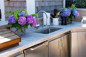 outdoor kitchen sink faucet winterizing your outdoor kitchen winterizing tips preventative