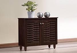 entryway storage cabinet with doors amazon com wholesale interiors baxton studio winda modern and