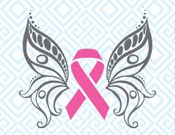 cancer awareness butterfly svg breast cancer ribbon digital
