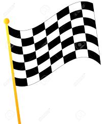 Finish Line Flag Waving Finish Line Flag