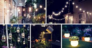 Patio Light 19 Inspiring Backyard And Patio Lighting Project Ideas Homelovr