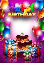 happy birthday postcards set of happy birthday postcards design elements vector free vector