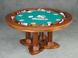 round poker table with dining top gothic style reversible top poker table