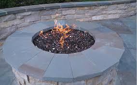 Firepit Glass Landscaping Landscape Contractors Landscape Designers