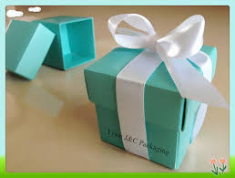 candy favor boxes wholesale free shipping 100pcs 5x5 2pc blue candy favor box gift favor box