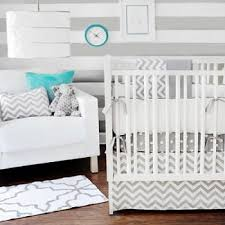 Gray And White Chevron Crib Bedding Gray Chevron Baby Bedding Chevron Crib Bedding Gray Nursery