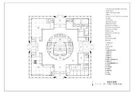 gallery of da chang muslim cultural center architectural design ground floor plan