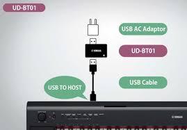 yamaha ud bt01 bluetooth wireless usb to host midi adapter new