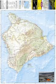 Hawaii Island Map Hawaii National Geographic Adventure Map National Geographic