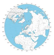 World Map Without Distortion by Using An Azimuth Map To Determine Antenna Direction U2014 Foxtrot Lima