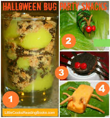 halloween party ideas crawly bug snacks halloween snacks bugs