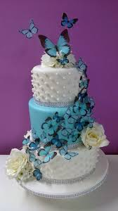 butterfly wedding cake 3 tier butterfly wedding cake cake by hayley s cakes