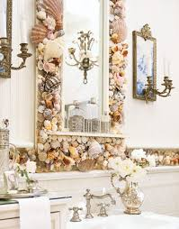 bathroom mirror decorating ideas 37 rustic bathroom decorating ideas shell and bathroom