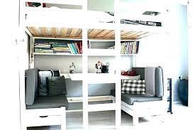bureau sous mezzanine bureau lit mezzanine lit superpose avec bureau lit mezzanine avec
