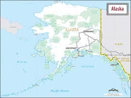 Alaska Population Map by Alaska Travel Planning