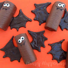 chocolate halloween cakes chocolate snack cake bats hungry happenings halloween