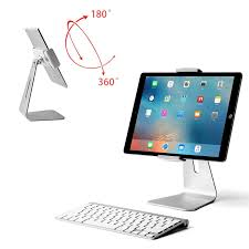 aluminum desk stand holder for ipad ipad pro samsung galaxy tablet