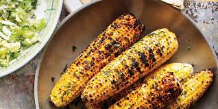 grilled corn with herb butter recipe epicurious com
