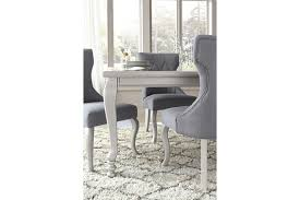Silver Dining Table And Chairs Coralayne Dining Room Table Ashley Furniture Homestore
