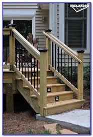 Deck Stair Handrail Handrail Height For Stairs On A Deck Deck Handrail Height Deck