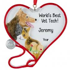 veterinarian ornaments gifts personalized ornaments for you