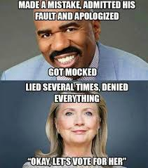 Brilliant Meme - meme reveals the difference between steve harvey and hillary