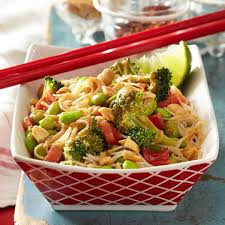 no cook diabetic meals noodle salad peanut sauce and cook meals