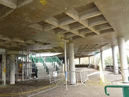 Concrete Ceiling Formwork For Ribbed Concrete Floors Waffle Moulds Two Way Span